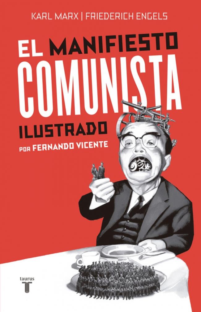 """Resultado de imagen para El Manifiesto Comunista"""" (ilustrado): De Karl Marx y Friedrich Engels."""