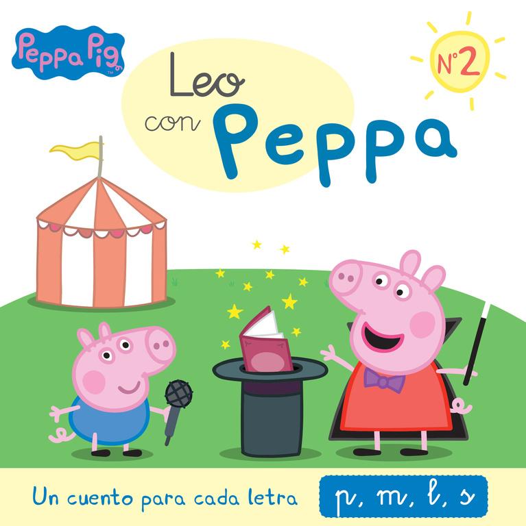 LEO CON PEPPA. UN CUENTO PARA CADA LETRA: P, M, L, S
