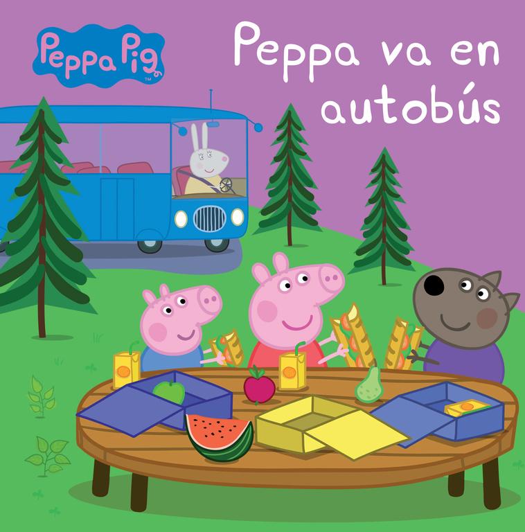 PEPPA PIG VA EN AUTOBúS
