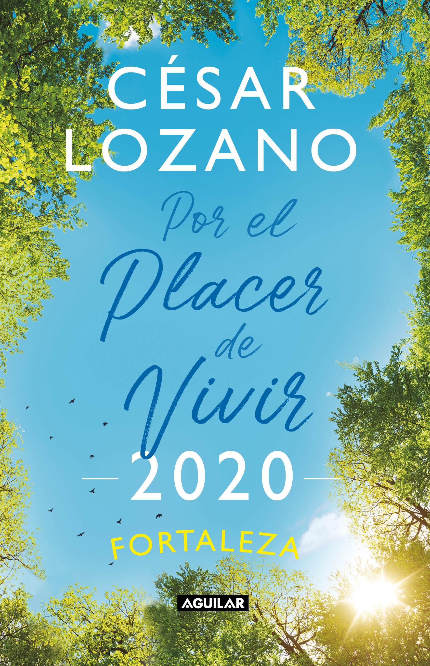 LIBRO AGENDA POR EL PLACER DE VIVIR 2020