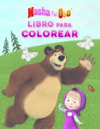 Masha Y El Oso Libro Para Colorear Con Actividades Masha Y El Oso