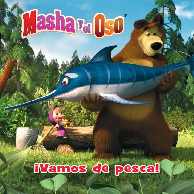 Masha Y El Oso Vamos De Pesca Masha Y El Oso álbum Ilustrado