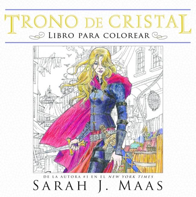 Trono de cristal. Libro para colorear (Trono de Cristal) - Me gusta ...